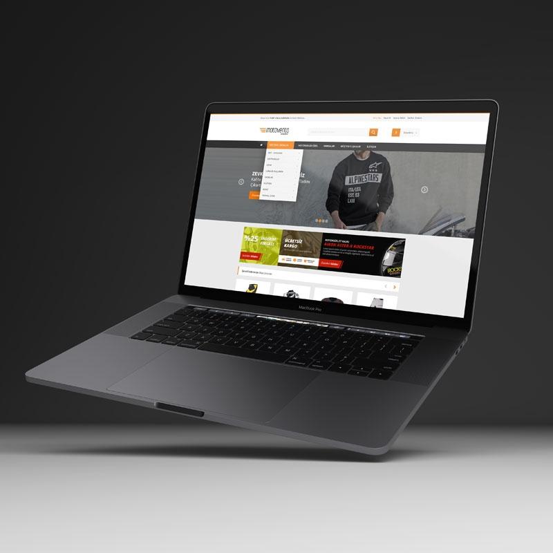 Motovento E-Ticaret Sitesi