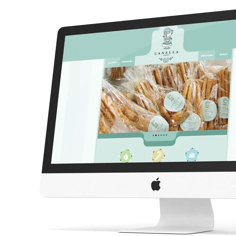Canella Bakery Web Sitesi