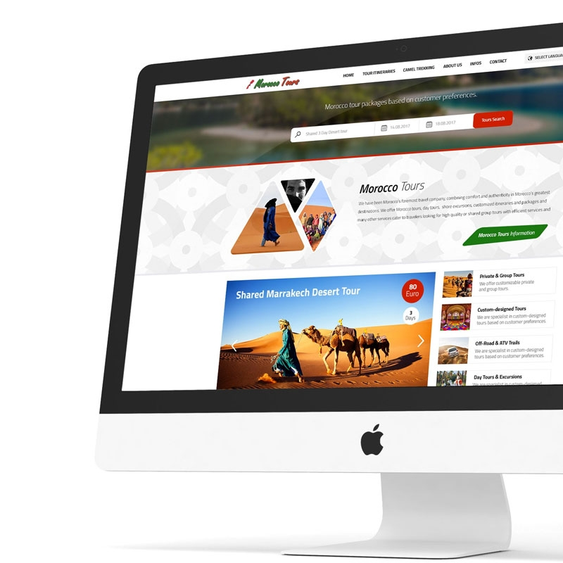 Morocco Tours Web Sitesi
