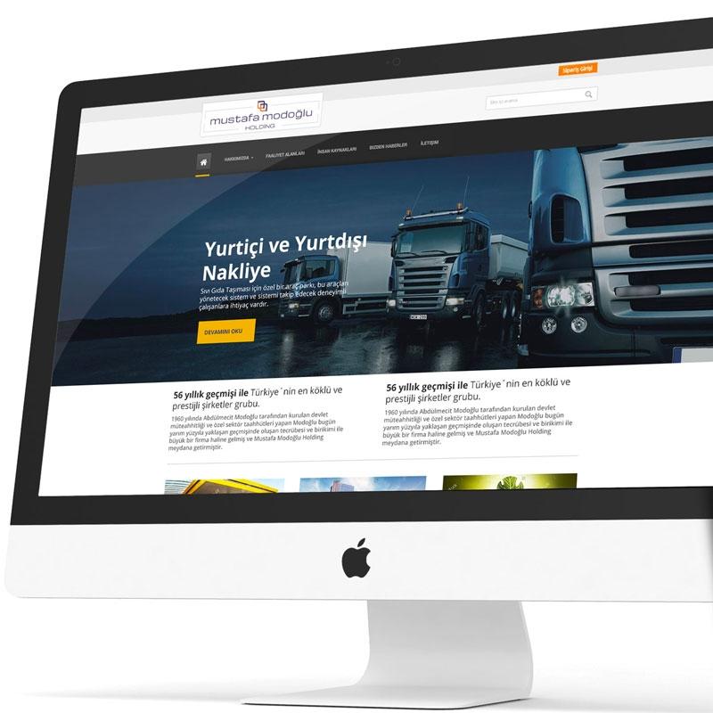 Modoğlu Holding Web Sitesi