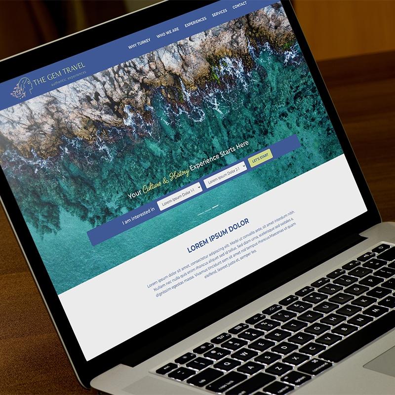 Gem Travel Web Sitesi