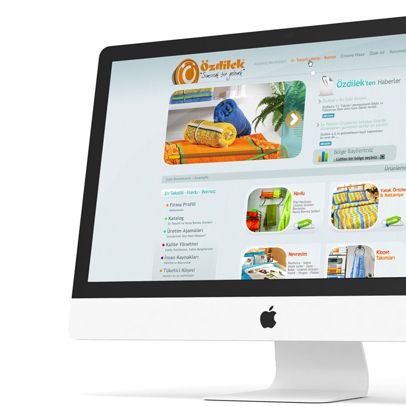 Özdilek Web Sitesi