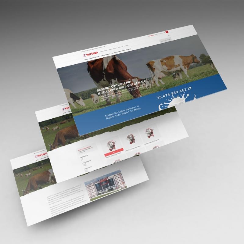 Kurtsan Tarım Web Sitesi