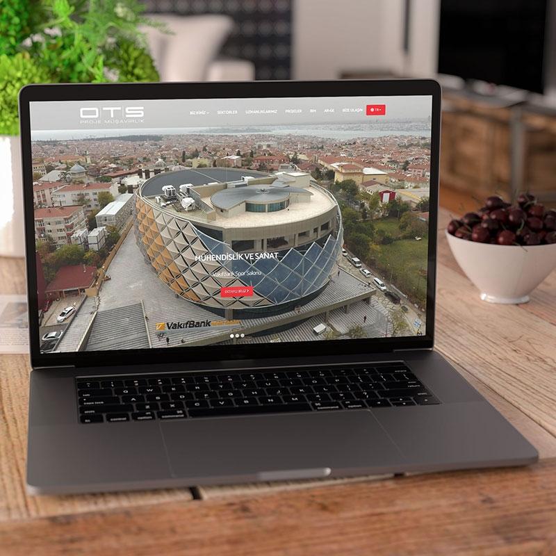 OTS Proje Mühendislik Web Sitesi