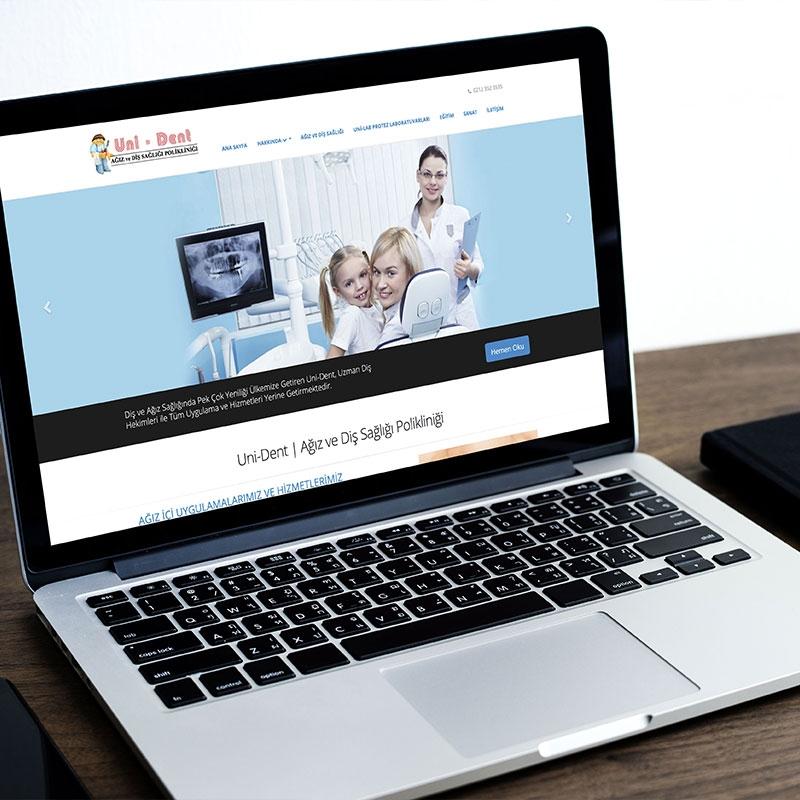 Uni-Dent Web Sitesi