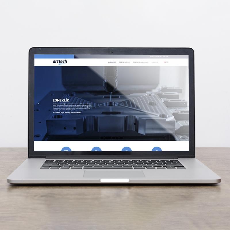Arttech Web Sitesi