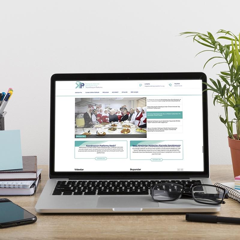 Koordinasyon Platformu Web Sitesi
